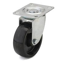 Колеса из фенольной смолы диаметр 80 мм с поворотным кронштейном. Серия 70