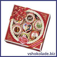 Ребер - Марципановые конфеты Патриций (новогодняя упаковка)
