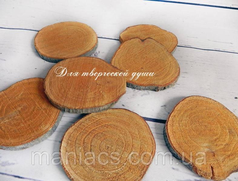 Срез дерева. Ольха 16 - 20 см