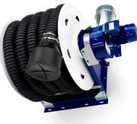 Вытяжная катушка выхлопных газов с вентилятором Ø 75 мм,12 м.