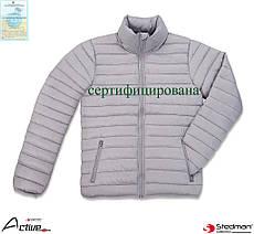 Куртка рабочая утепленная стеганая мужская (спецодежда зимняя рабочая) Stedman SST5200 LGY