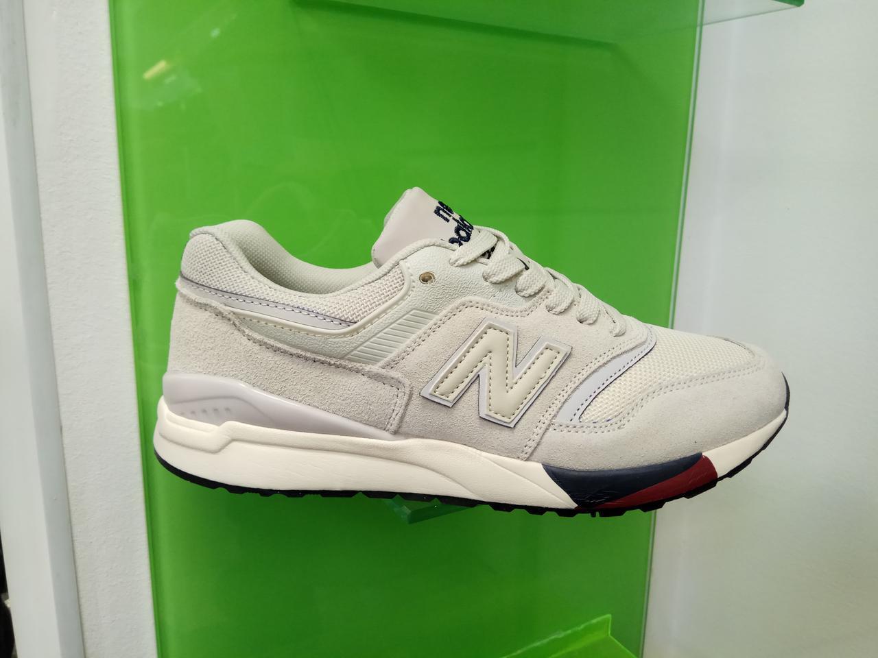 Жіночі кросівки new balance 997,5 світло - сірі