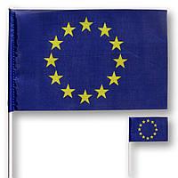 Прапорець (прапорець) Євросоюзу , поліестер , 14х23 див.