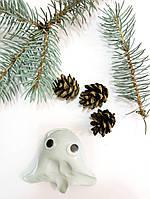 Хендгам Умный пластилин Серебро 50г (запах дыни) Украина Supergum Putty, Nano gum, Neogum, Супергам