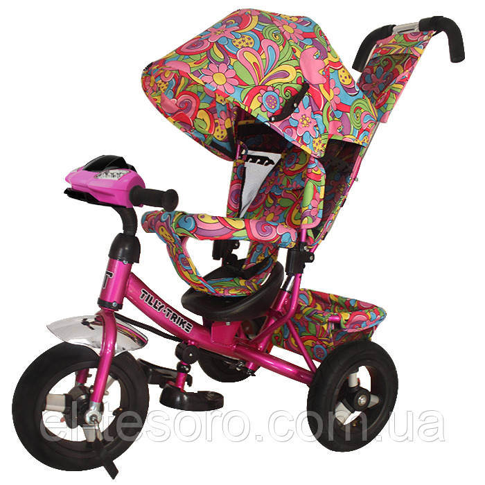 Велосипед трехколесный TILLY Trike T-363-2  рус.музыка