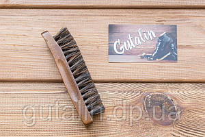 Щетка из натурального ворса art. 5 для полировки обуви