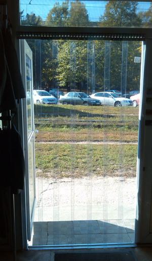 Завеса ПВХ на дверь 1,7м х 2м, 10 лент