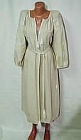 Платье с вышивкой 00124