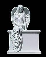 Скульптура ангела из искусственного мрамора № 25