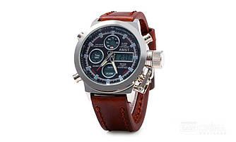 Водонепроницаемые армейские часы AMST AM31003 Brown