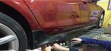 Накладки под пороги на Audi A7 S-Line, фото 2