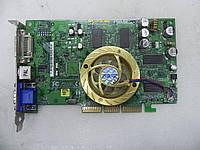 Видеокарта ASUS NVIDIA GeForce FX5200 128Mb DDR Video-AGP8, Б/В