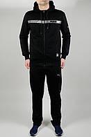 Мужской спортивный костюм Puma 4618 Чёрный
