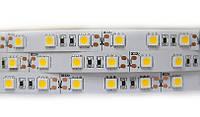 Светодиодная LED лента 60 диодов SMD5050 Теплый белый
