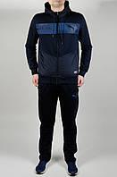 Мужской спортивный костюм Puma 4619 Тёмно-синий