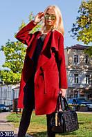 Женское пальто (42-46) — кашемир