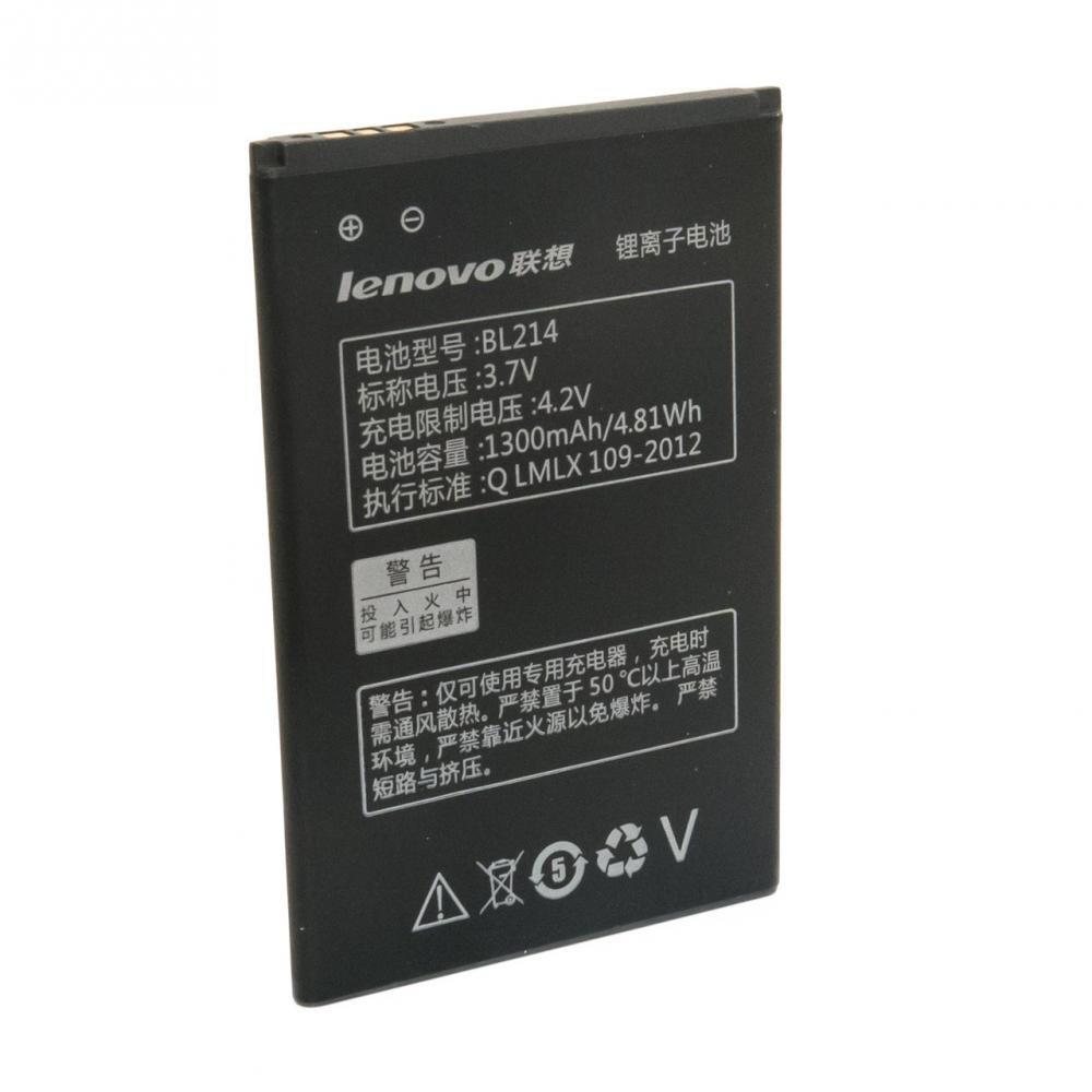 Lenovo A238T, A316, A316i, A318, A369i акумулятор батарея BL214 оригінал 1300mAh