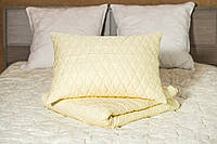 Чехол стеганый сменный на подушку 70х70 (2 шт.) MIRTEX