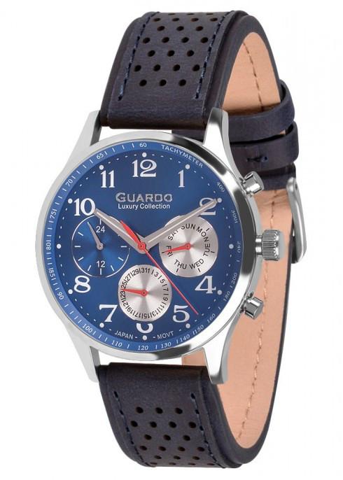 Мужские наручные часы Guardo S01605 SBlBl