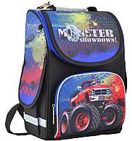 Рюкзак каркасный для мальчика PG-11 Monster showdown