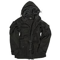 Куртка черная KSK.  SMOCK LIGHT WEIGHT. SCHWARZ.