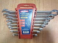 Набір ключів рожково-накидних, 8 штук, CR-V, Technics (48-921), фото 1