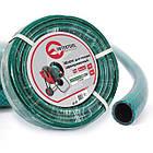 """Шланг для полива 3-х слойный 1/2"""", 20м, армированный PVC INTERTOOL GE-4023"""