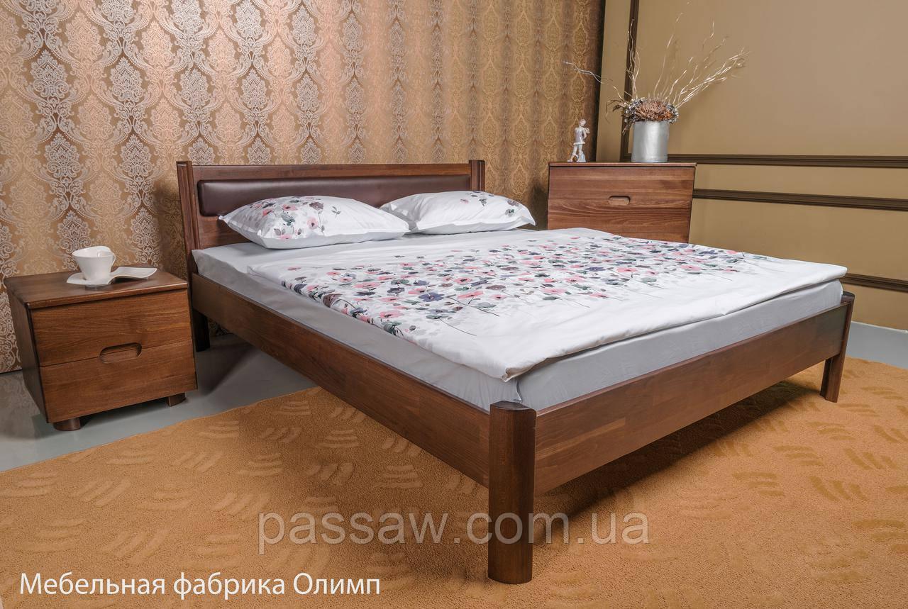 """Кровать деревянная """"Марго"""" мягкая без изножья 1,8"""