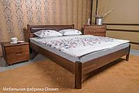 """Кровать деревянная """"Марго"""" мягкая без изножья 1,2"""