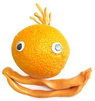Акция! Хендгам Handgum Оранжевый 80г (запах цитруса) Украина Supergum,Умный пластилин, Nano gum
