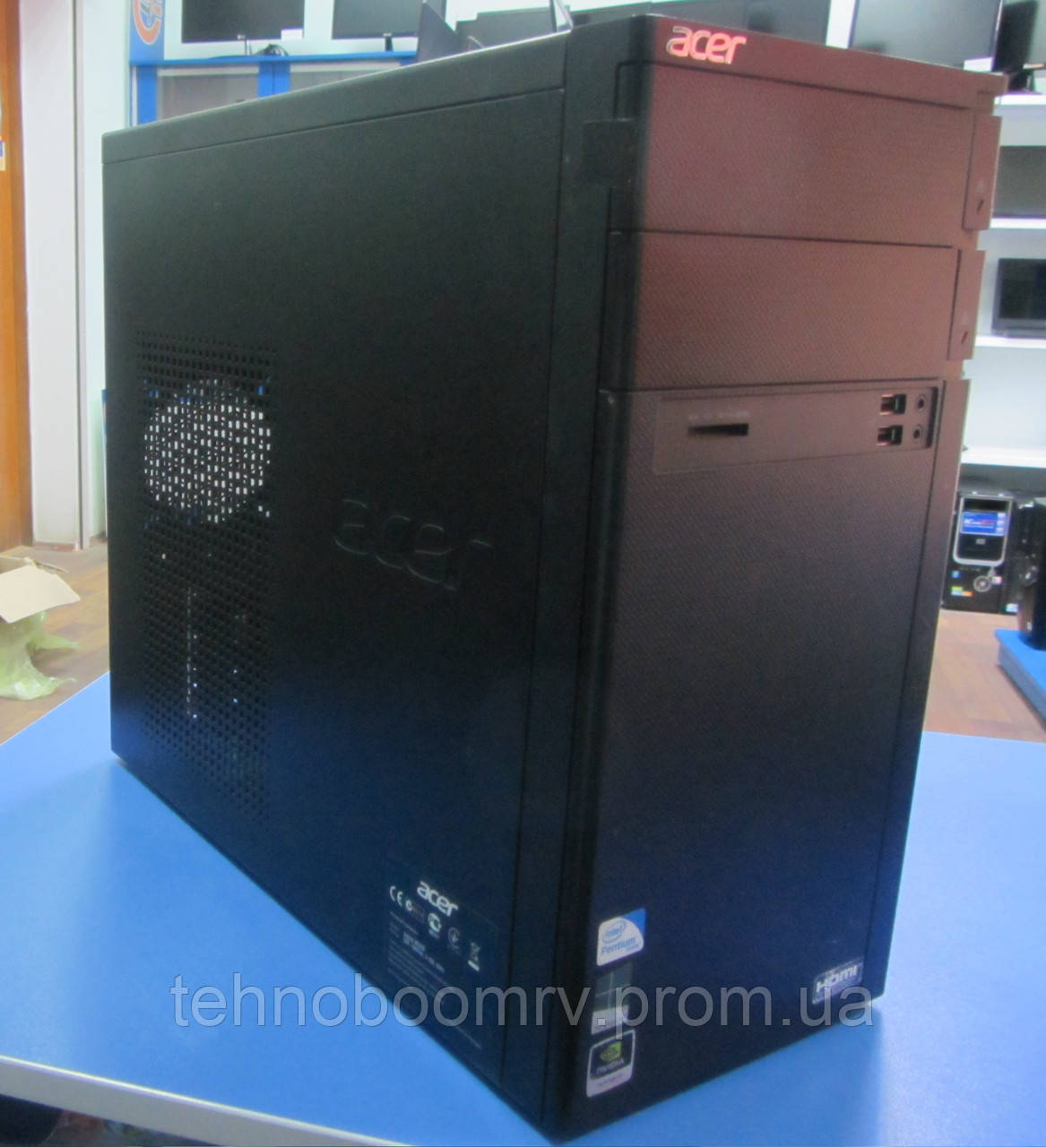 Брендовый ПК Acer - Intel Pentium G645 2.9GHz/DDR3 4GB/GT 620 2GB