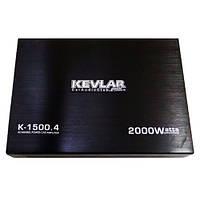 Автомобильный усилитель звука Kevlar K-1500.4 2000 Вт 4-х канальный