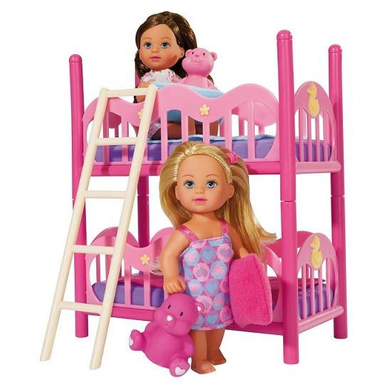 Куколки Еви с двохярусной кроваткой, Simba 5733847