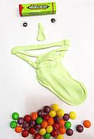 Хендгам Handgum Светящийся Зеленый 80г (запах сладкой жвачки) Supergum,Putty, Умный пластилин