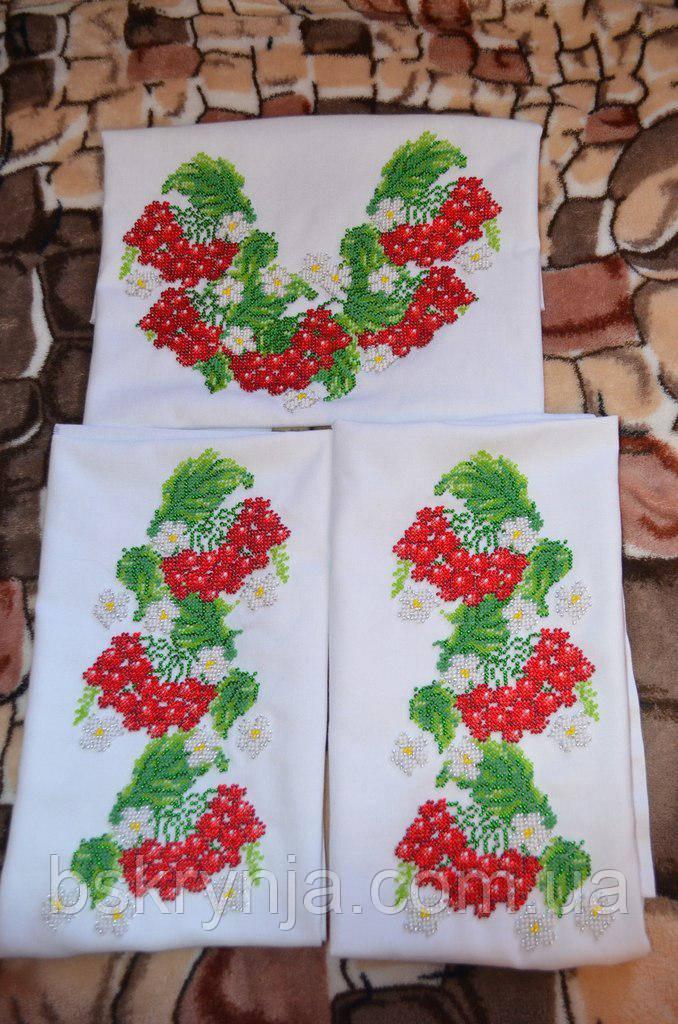 Заготівля дитячої сорочки для вишивки нитками/бісером БС-13
