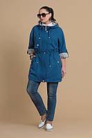 Женская весенняя котоновая куртка М-076-17