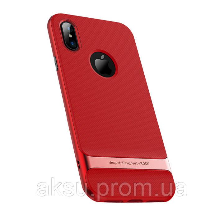 Чехол Rock Royce для iPhone X Red