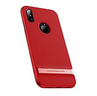 Чехол Rock Royce для iPhone X Red, фото 1