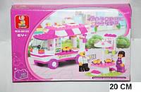 Конструктор Розовая мечта  0155