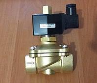 """Клапан Ду20 3/4"""" нормально открытый электромагнитный соленоидный 220В"""