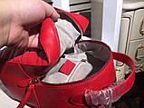 Рюкзак Гучи Marmont натуральная кожа цвет красный, фото 8