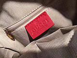 Рюкзак Гучи Marmont натуральная кожа цвет красный, фото 9