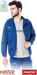 Куртка Master рабочая мужская синяя REIS Польша (роба униформа одежда рабочая) BM N