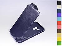Откидной чехол из натуральной кожи для HTC U11 Plus