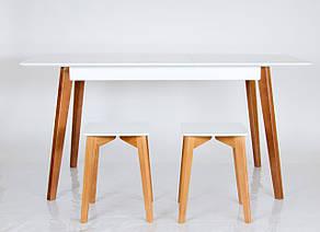 """Табурет из массива ясеня Сингл Микс мебель, коллекция мебели """"Лофт"""", фото 2"""