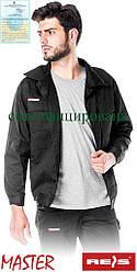 Куртка Master рабочая мужская черная (роба спецодежда рабочая) BM B