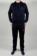 Мужской спортивный костюм Jordan 4640 Тёмно-синий