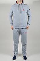 Мужской спортивный костюм Jordan 4641 Серый