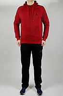 Мужской спортивный костюм Jordan 4642 Бордовый
