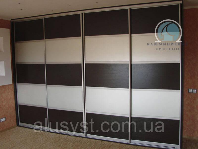 Раздвижные двери (фасады) в шкаф купе